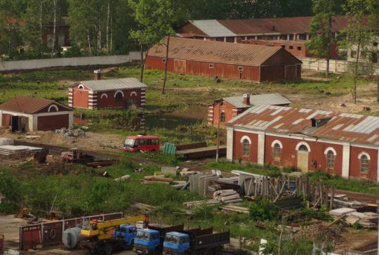 Инженерная подготовка территории бывшего 775 артиллерийского ремонтного завода